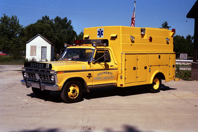 RESCUE  FORD F  YELLOW