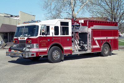ATLANTA FD  ENGINE 28  1997  PIERCE SABER   1250-1500    EA-908