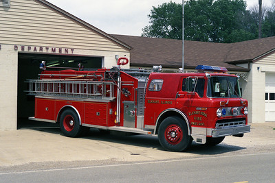 ELKHART FPD ENGINE  FORD C-8000 - ALEXIS