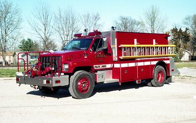 EMDEN  TANKER 5   1999 CHEVY C8500 - ALEXIS   300-2000   # 1455