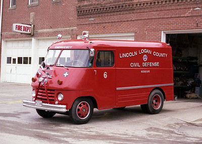 LINCOLN CITY FD  RESCUE 6