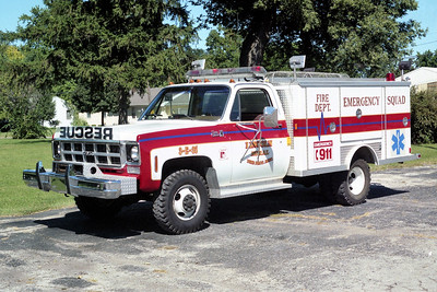 LINCOLN RURAL  RSCUE 1   GMC - E-ONE