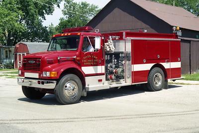 ALLEN TOWNSHIP  ENGINE 1   1999  IHC 4900 - PIERCE   1250-1000