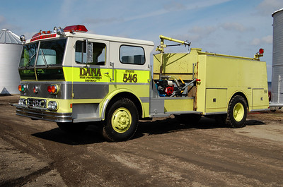 DANA ENGINE 546  PUMP REMOVED   BILL FRICKER PHOTO