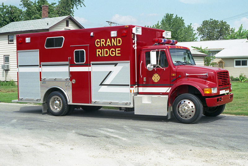 GRAND RIDGE VFD RESCUE 11  IHC 4900-MARION