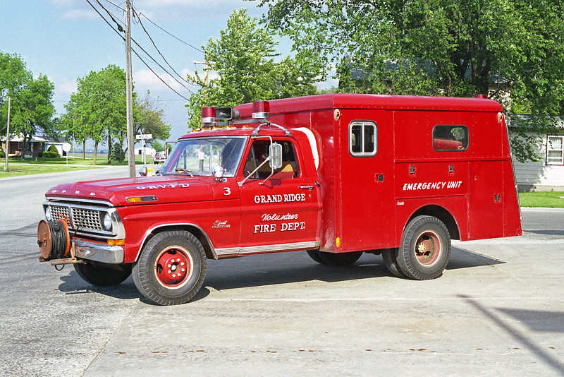 GRAND RIDGE VFD RESCUE 3  CHEVY