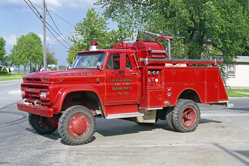 GRAND RIDGE VFD BRUSH 6  GMC 4X4 - BEAN