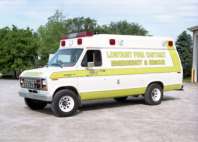 LOSTANT  RESCUE 2115  1987  FORD E-250 - CRS COACH