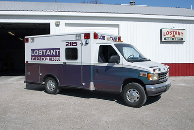 LOSTANT AMBULANCE 2115