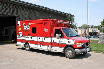 LA SALLE  MEDIC 422   1996 FORD E450 - MEDTEC   #96112