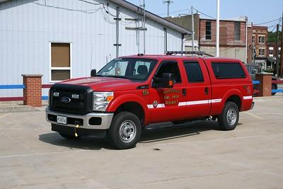 MARSEILLES  UTILITY 554  2011 FORD F250
