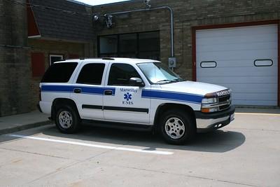 MARSEILLES EMS CAR   CHEVY TAHOE