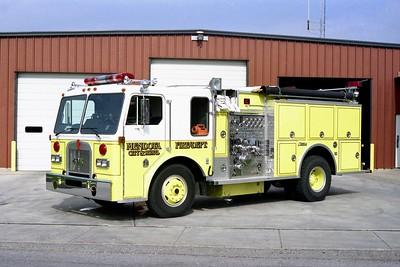 MENDOTA FD  ENGINE 611  1985  KENWORTH - FMC   1250-1000  OMEGA
