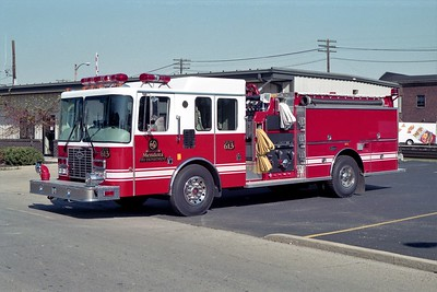 MENDOTA FD ENGINE 613  1994  HME 1871 - LUVERNE   1250-1000   #10590