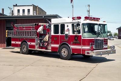 MENDOTA FD ENGINE 613  1994  HME 1871 - LUVERNE   1250-1000   #10590   OFFICERS SIDE (2)