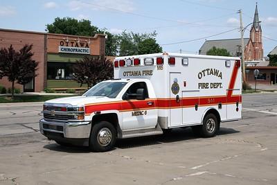 OTTAWA  MEDIC 6  2014 CHEVY 3500 - WHEELED COACH  #351008