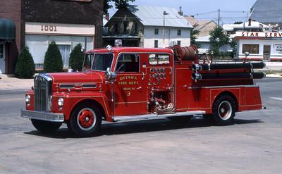 OTTAWA ENGIN 3   1958 WLF  1000-500  RON HEAL PHOTO