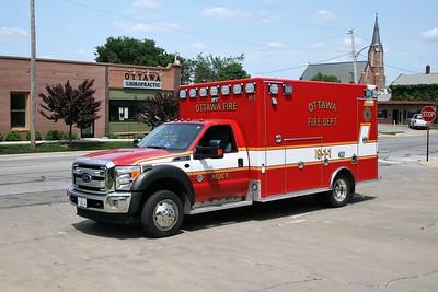 OTTAWA  MEDIC 9   2014 FORD F450 - OSAGE  #4438