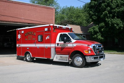 SENECA RURAL AMBULANCE 3924  2008 FORD F650 - MEDTEC   #7686