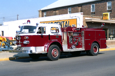 STREATOR   ENGINE 1  1974 ALFCO  1250-500