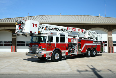 STREATOR TRUCK 5 2009 PIERCE ARROW XT 2000-300-0-25B 100' PAP