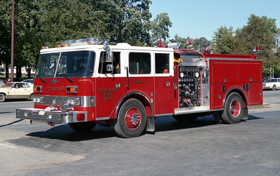 STREATOR  ENGINE  1989 PIERCE ARROW 1500-750