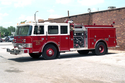 STREATOR ENGINE 1   1989 PIERCE ARROW  1500-750