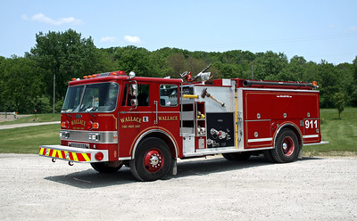 WALLACE  ENGINE 921   PIERCE DASH