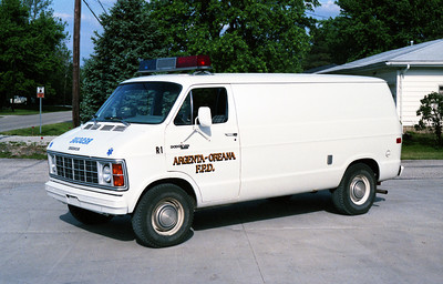 RESCUE 1  DODGE VAN