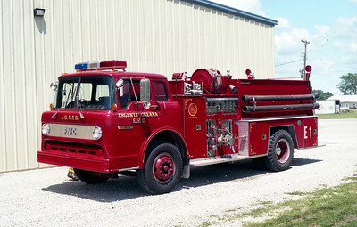ARGENTA-OREANA  ENGINE 1  FORD C - FMC