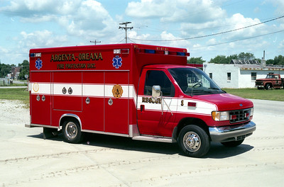 ARGENTA - OREANA RESCUE 1    FORD E-450 - ROAD RESCUE