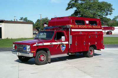 BLUE MOUND RESCUE 40  CHEVY -