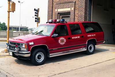 BATTALION 1  CHEVY SUBURBAN  RED