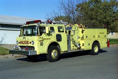 ENGINE 10  FORD C - GRUMMAN