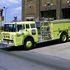 ENGINE 1  FORD C-8000 - E-ONE  LIME GREEN