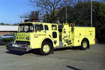 ENGINE 9  FORD C-8000 - GRUMMAN