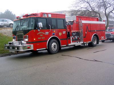 HARRISTOWN ENGINE 343 @ DGFD STATION 1