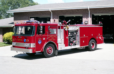 HICKORY POINT ENGINE 432   PIERCE ARROW