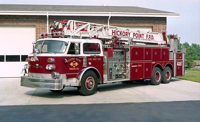 HICKORY POINT TRUCK 438  ALCO CENTURY WATER CHIEF   X-WESTERN SPRINGS FD