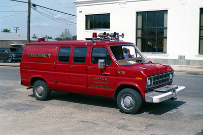RESCUE 13    FORD ECONOLINE VAN