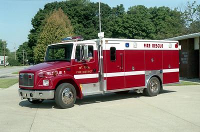MT ZION  RESCUE 1  1995 FREIGHTLINER FL-60 - EVF (2)