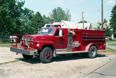 ENGINE 32  FORD F - ALEXIS