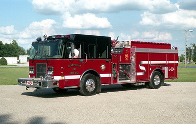 WARRENSBURG ENGINE 635  SPARTAN - SMEAL