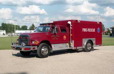 WARRENSBURG  RESCUE 29  FORD F - HACKNEY