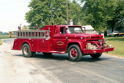 ENGINE 630  1964   GMC 5000 - TOWERS  750-750   #1277