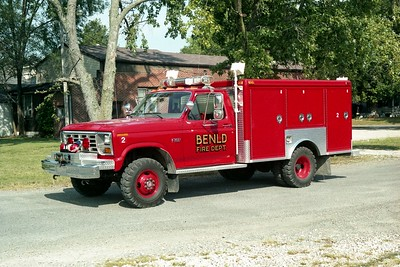 RESCUE 635   1986 FORD F350 - McCOY MILLER