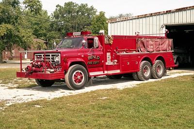 TANKER 638  1983 GMC 7000 - TOWERS   750-2000  #1770   X-AUBURN FPD IL