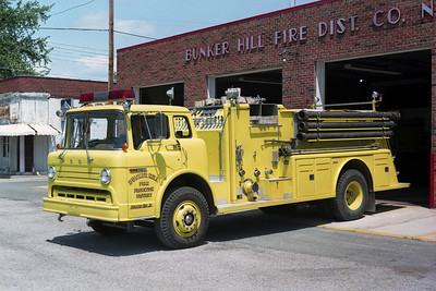 BUNKER HILL FPD  ENGINE  FORD C-TOWERS