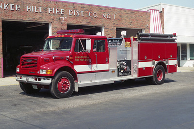 BUNKER HILL FPD ENGINE  IHC-PIERCE
