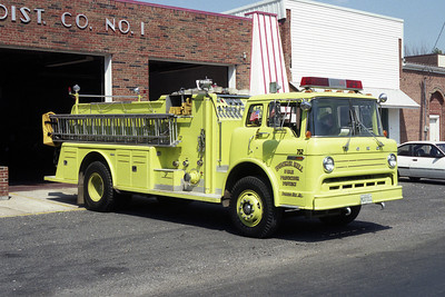 BUNKER HILL FPD  FORD ENGINE
